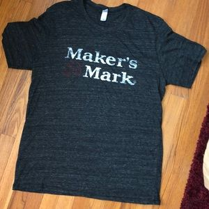 🎉🎉 5/$25 🎉MAKERS MARK SCOTCH MENS TEE T-SHIRT